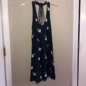 American Eagle navy dress